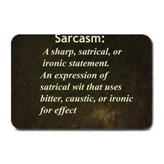 Sarcasm  Plate Mats
