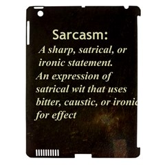 Sarcasm  Apple Ipad 3/4 Hardshell Case (compatible With Smart Cover)