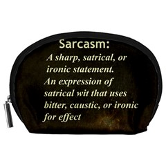 Sarcasm  Accessory Pouches (large)