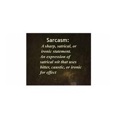 Sarcasm  Satin Wrap