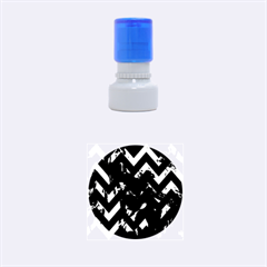 Zigzag Rubber Round Stamps (Small)