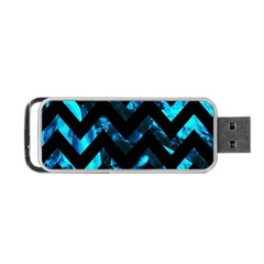 Zigzag Portable USB Flash (One Side)