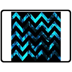 Zigzag Double Sided Fleece Blanket (Large)