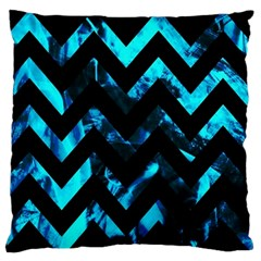 Zigzag Standard Flano Cushion Cases (one Side)