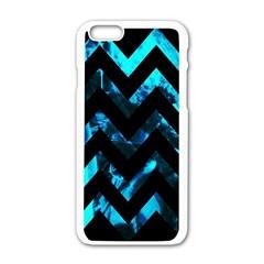 Zigzag Apple iPhone 6 White Enamel Case
