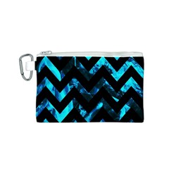 Zigzag Canvas Cosmetic Bag (S)