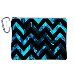 Zigzag Canvas Cosmetic Bag (XL)