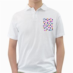 Candy Flowers Golf Shirts