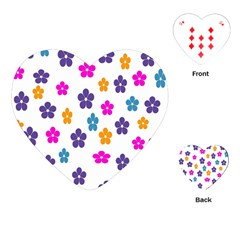 Candy Flowers Playing Cards (heart)