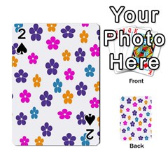 Candy Flowers Playing Cards 54 Designs