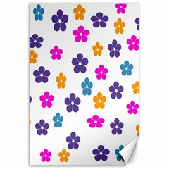 Candy Flowers Canvas 20  X 30