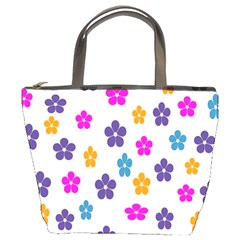 Candy Flowers Bucket Bags