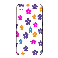 Candy Flowers Apple Iphone 4/4s Seamless Case (black)