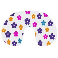 Candy Flowers Travel Neck Pillows