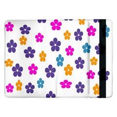 Candy Flowers Samsung Galaxy Tab Pro 12 2  Flip Case