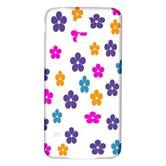Candy Flowers Samsung Galaxy S5 Back Case (White)