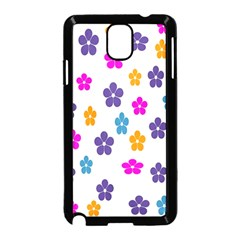 Candy Flowers Samsung Galaxy Note 3 Neo Hardshell Case (black)