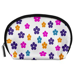 Candy Flowers Accessory Pouches (large)
