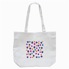 Candy Flowers Tote Bag (white)