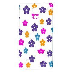 Candy Flowers Galaxy Note 4 Back Case