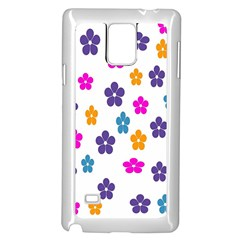 Candy Flowers Samsung Galaxy Note 4 Case (White)