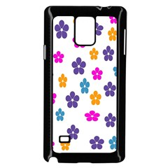 Candy Flowers Samsung Galaxy Note 4 Case (Black)