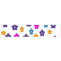 Candy Flowers Flano Scarf (Small)