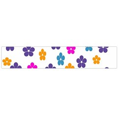 Candy Flowers Flano Scarf (large)