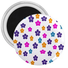 Candy Flowers 3  Magnets