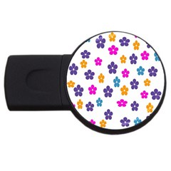 Candy Flowers Usb Flash Drive Round (2 Gb)