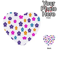 Candy Flowers Multi Purpose Cards (heart)