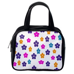 Candy Flowers Classic Handbags (one Side)