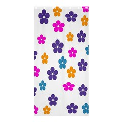Candy Flowers Shower Curtain 36  x 72  (Stall)