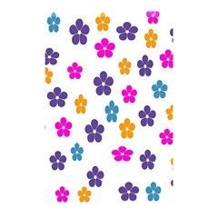 Candy Flowers Shower Curtain 48  X 72  (small)