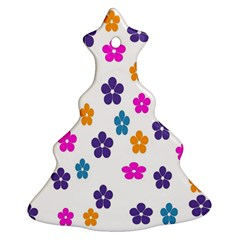 Candy Flowers Christmas Tree Ornament (2 Sides)