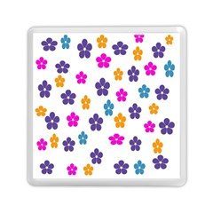 Candy Flowers Memory Card Reader (square)