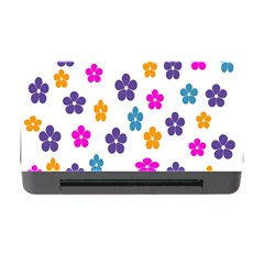 Candy Flowers Memory Card Reader with CF
