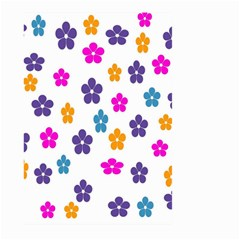 Candy Flowers Large Garden Flag (two Sides)