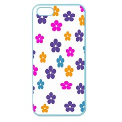 Candy Flowers Apple Seamless Iphone 5 Case (color)