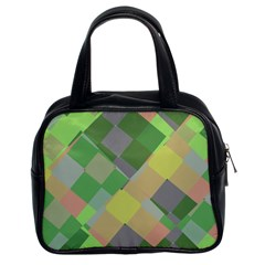 Squares And Other Shapes Classic Handbag (two Sides)