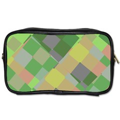 Squares And Other Shapes Toiletries Bag (two Sides)