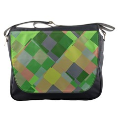 Squares And Other Shapes Messenger Bag