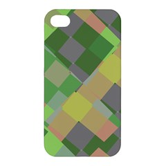 Squares And Other Shapes Apple Iphone 4/4s Premium Hardshell Case