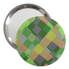 Squares And Other Shapes 3  Handbag Mirror
