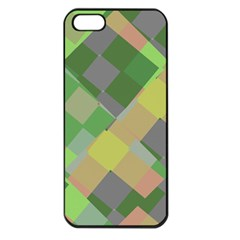 Squares And Other Shapes Apple Iphone 5 Seamless Case (black)