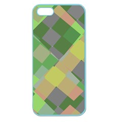 Squares And Other Shapes Apple Seamless Iphone 5 Case (color)