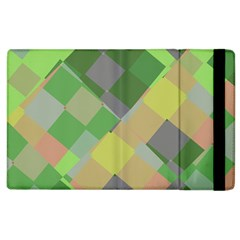 Squares And Other Shapes Apple Ipad 3/4 Flip Case