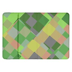 Squares And Other Shapes Samsung Galaxy Tab 8 9  P7300 Flip Case