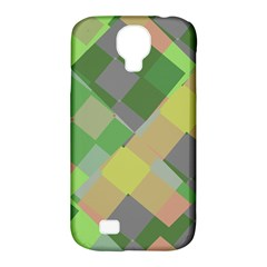 Squares And Other Shapes Samsung Galaxy S4 Classic Hardshell Case (pc+silicone)