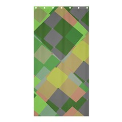 Squares And Other Shapesshower Curtain 36  X 72